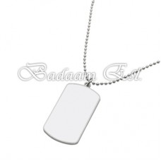 Rectangle curve Necklace