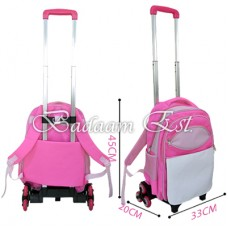 Pink Trolley Bag