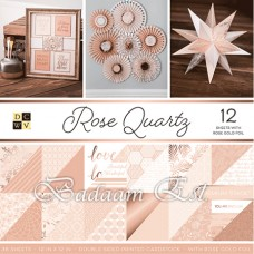 12X12 inch – Rose Quartz Gold