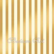 50X70 cm Poster Board Gold Stripe