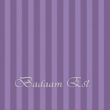 Purple Stripe Poster Board 70x50 cm