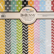 Double Dot Chevron Collection 12 inch
