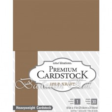 Kraft Cardstock, 270 gm, 30 sheets, A4