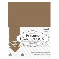 Kraft Cardstock, 175 gm, 50 sheets, A4