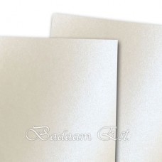 White metallic cardstock 230 gsm 20 sheets A3
