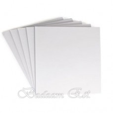 Chipboard White 30cm, 1.5mm