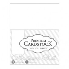 White Cardstock 170gm - A4