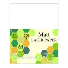 Laser Matte Papers, 200 gm, 50 sheets, A4