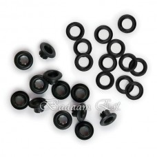 Eyelet & Washer - Black