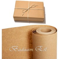 Striped Kraft Gift Wrapping Roll 60cm * 30m