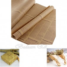 Kraft Newspaper wrapping paper