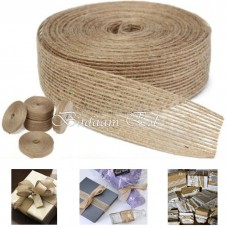 Burlap Ribbon Wrapping Packaging Gift 10 m