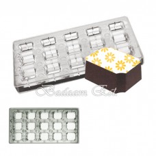 Magnetic Chocolate Mould - RECTANGLES