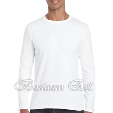 Soft style Adult Long Sleeve White