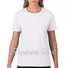 Premium Cotton Ladies' White