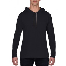 Adult Long Sleeve Hooded Tee