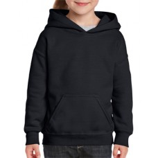 Youth Hooded Sweatshirt Black