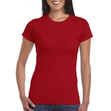 Soft Style Ladies Cherry Red