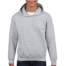 Youth Hooded Sweatshirt Grey