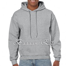 Adult Hooded Sweatshirt Grey