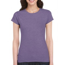 Soft Style Ladies Heather Purple