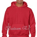 Adult Hooded Sweatshirt Red