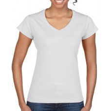 Softstyle Ladies V-Neck T-Shirt White