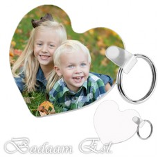 FRP Heart 2 Sided Key chain