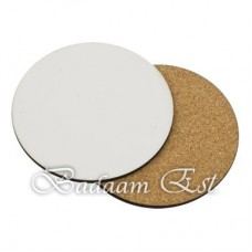 Circle MDF Sublimation Drink Coasters