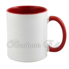 Sublimation Inner Red Mug