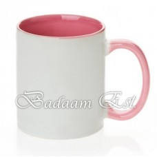 Sublimation Inner Pink Mug
