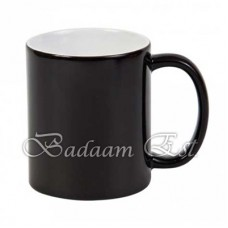 Black change color mug