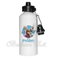 Aluminum Water Bottle 2 covers