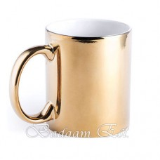 Metallic Gold Mug