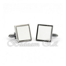 Square Sublimation cuff link