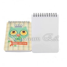Plastic Notebook A6