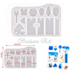 Silicon Hanging / Key chains Model 1168