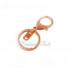 Keychain Rose Gold 10 Pieces