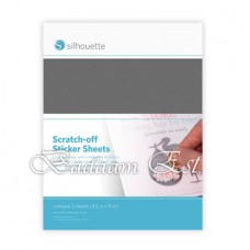 Scratch-Off Sticker - Silver