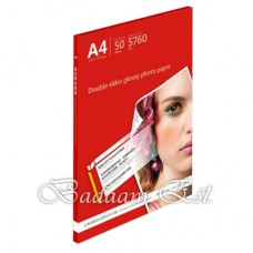 220gms Double Sided Glossy Photo Paper A4