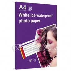 InkJet White Ice Paper, 260 gm, 20 sheets, A4