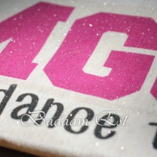 NuCoat Glitter Inkjet Light Fabric Transfer