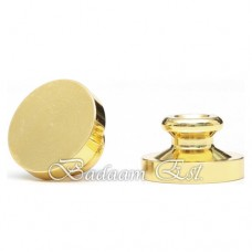 Base wax stamp 2.5 cm - Circle