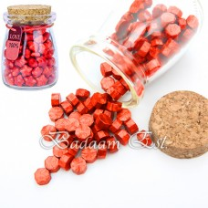 Wax beads - Red