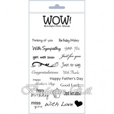 Everyday Sentiments - ME Clear Stamp Set